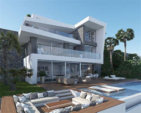 huizen te koop xabia javea luxe nieuwbouw villa eerste lijn zee