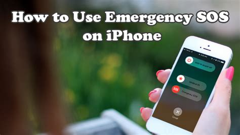 iphone emergency sos how to setup and use emergency sos on iphone ios 11