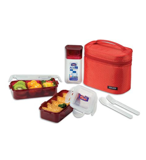 Lunch Set Homio compare lock lock plastic 6 lunch box set price india comparometer