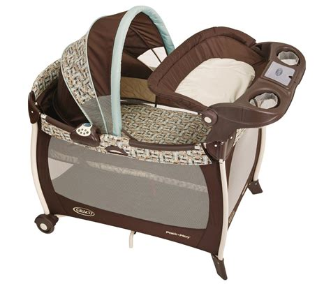 graco silhouette pack  play  bassinet changer