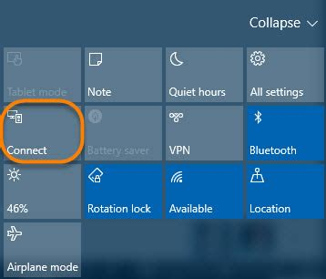 windows 10 tip: project your screen is now connect | it pro