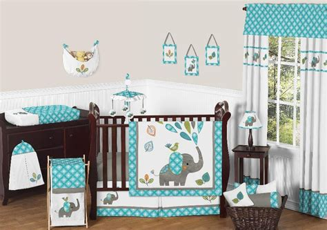 babies r us elephant bedding baby sweet jojo designs mod jungle collection animal