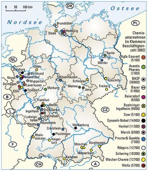 Audi Deutschland Standorte by Ernst Klett Verlag Infoblatt Chemische Industrie