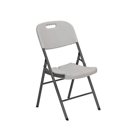 sandusky white folding chair set of 4 fpc182035 the