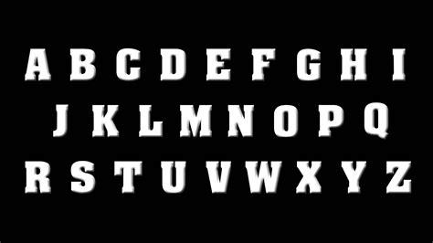 G U C C I the rock alphabet abcdefghijklmnopqrstuvwxyz