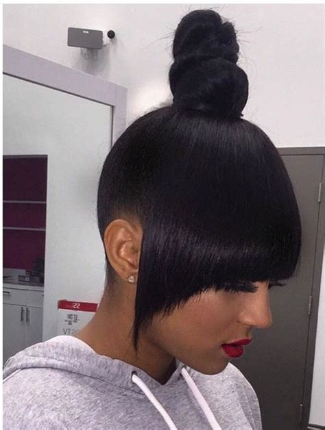 weave for top knot pin by michaela ಌ on mane attraction pinterest