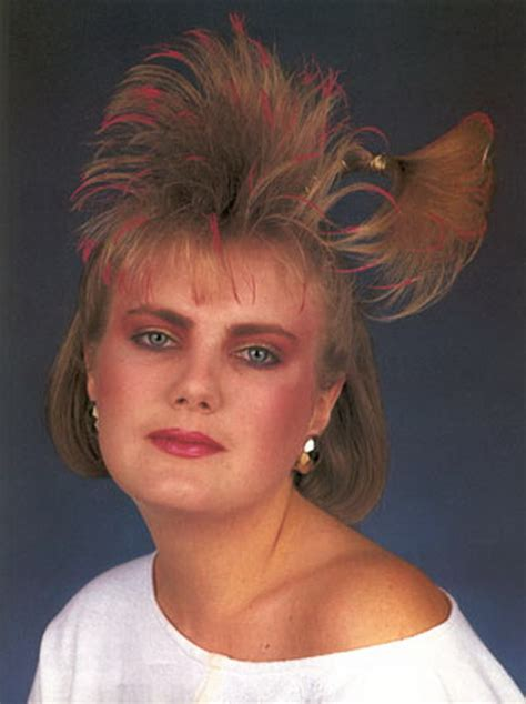 hair styles in 80 for prom 80s short hairstyles women