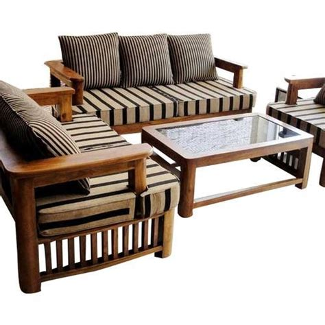 Wooden Couches by Home Furniture Wooden Sofa Set Manufacturer From Pune