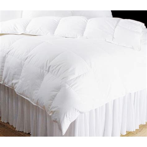 Comforter 650 Fill Power by Downtown Hotel Collection Year White Goose