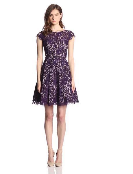 Purple womens dress