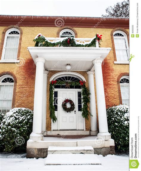 historic home  christmas decorations royalty