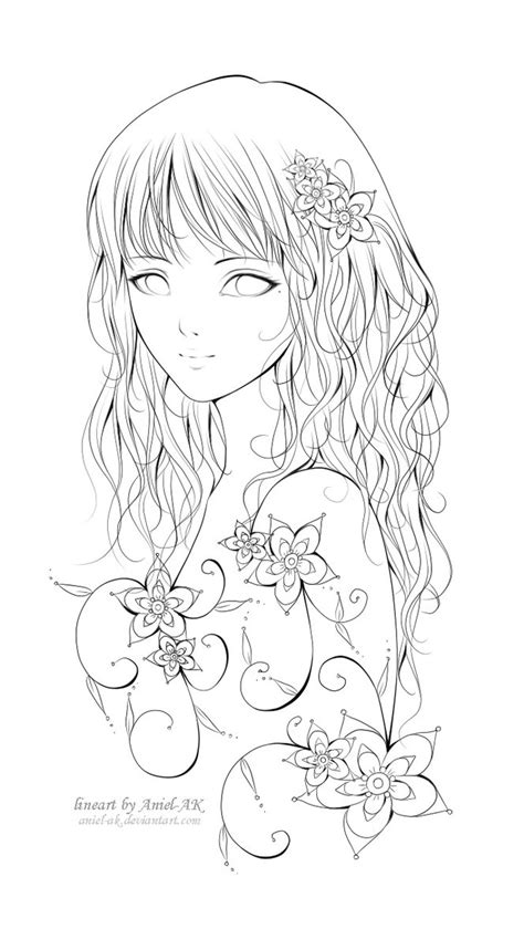 how to color lineart neola lineart by aniel ak on deviantart