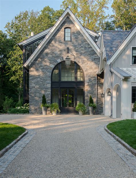modern farmhouse exterior farmhouse with gravel driveway modern belgian farmhouse design home bunch interior