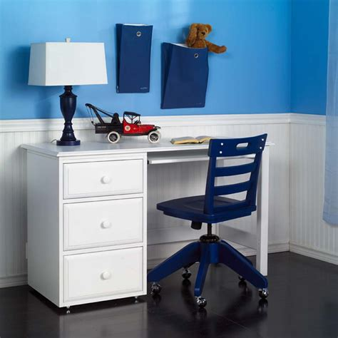 student desk in student desk by maxtrix shown in white