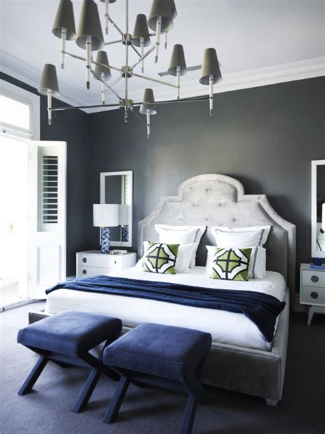 Bright blue master bedroom ideas collect this idea master