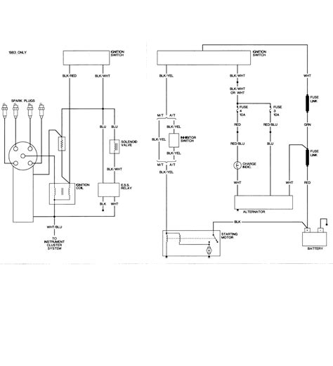mitsubishi l200 alternator wiring diagram nissan alternator field connection wiring diagram