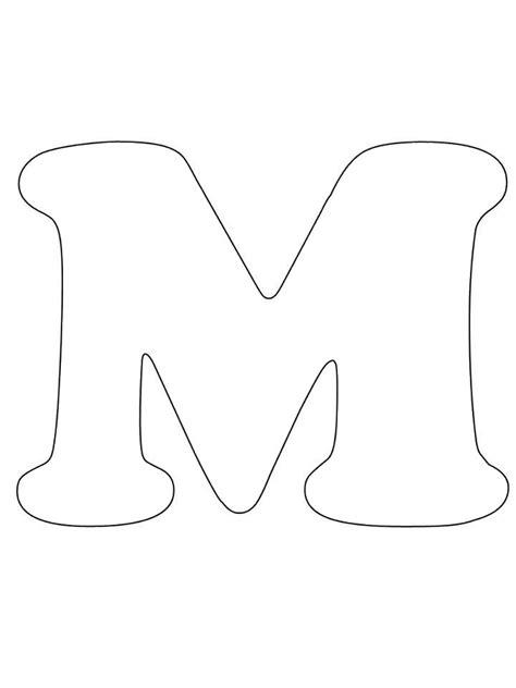moldes de letra m m 225 s de 20 ideas incre 237 bles sobre molde letra m en