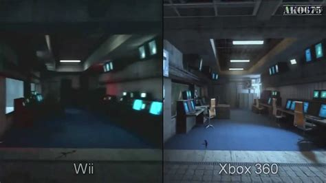wii vs n64 graphics system goldeneye 007 vs goldeneye 007 reloaded wii vs xbox 360