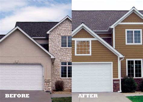 before and after homes re sided midwest homes before and after iron river