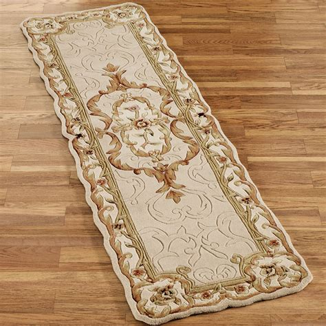 Wool Runner Rugs by Evaline Wool Aubusson Rug Runners