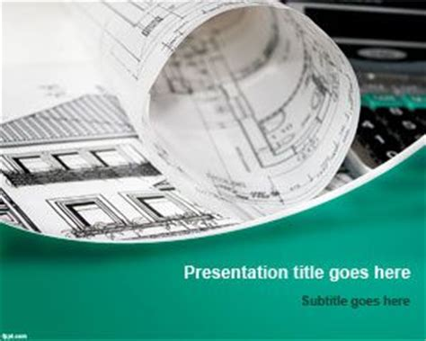ppt templates for engineering presentation free architect powerpoint template