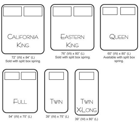 king bed dimensions usa american home furnishings