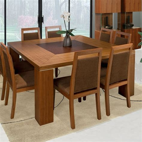 Dining Tables Square 8 Seats Home Furniture Plan For Dining Tables For 8