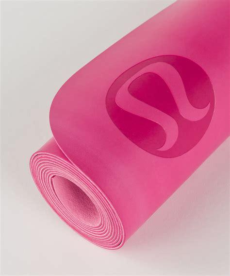 lululemon the reversible un mat bon bon white pink