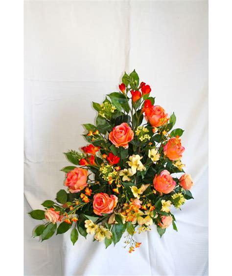 fiori recisi invernali rosa arancio composizioni floreali