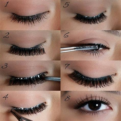 How Do You Put Yourself On Images how to apply lashes at home like a pro beth bender