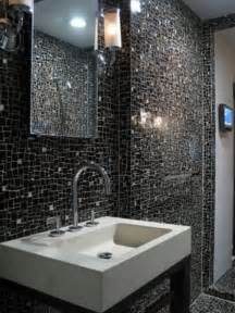 black tile bathroom ideas 30 nice pictures and ideas of modern bathroom wall tile