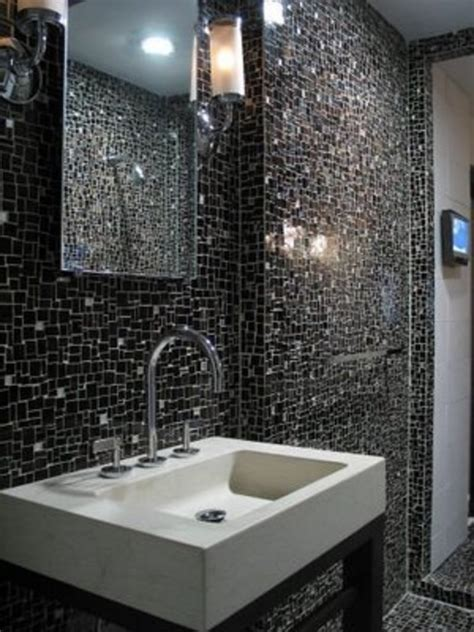 Glass Tile Ideas For Small Bathrooms 30 Pictures And Ideas Of Modern Bathroom Wall Tile Design Pictures