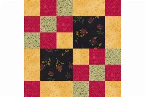 Patchwork Quilt Blocks - free 9 inch patchwork quilt block patterns