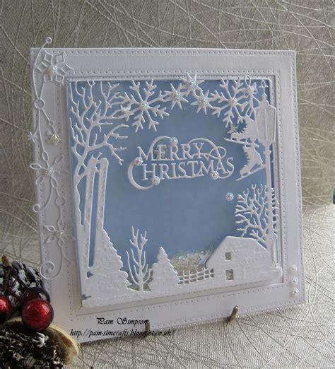 Home Design Free Gems pamscrafts christmas shaker card wintertide frame