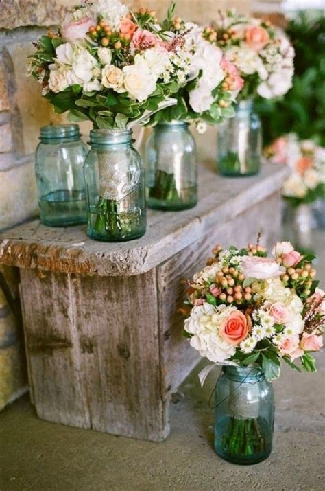 mason jar wedding centerpieces wedding ideas pinterest