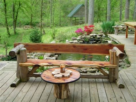 cedar log bench wood furniture pinterest more cedar log benches www timgabhart com cedar furniture pinterest logs log benches