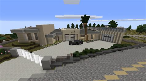 cliff side house cliff side modern house minecraft project
