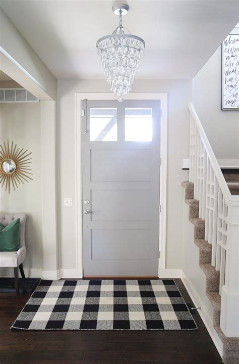 remodelaholic affordable plaid and buffalo check home 25 best ideas about fall entryway on pinterest fall