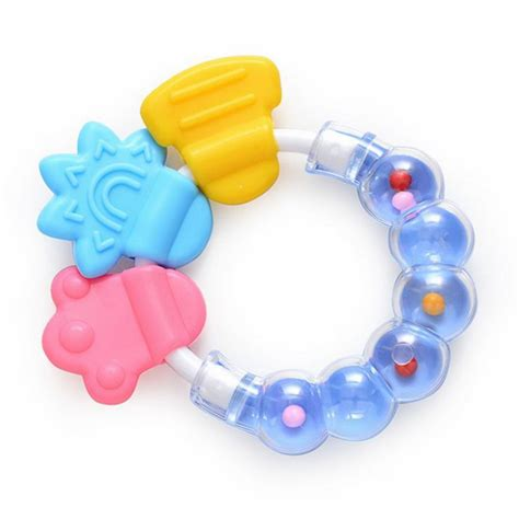 teething toys new baby teething teether ring circle teether balls toys for baby ebay