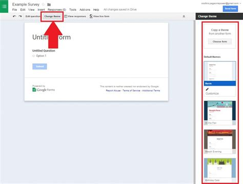 themes in google forms how to create a free survey with google docs tutorial