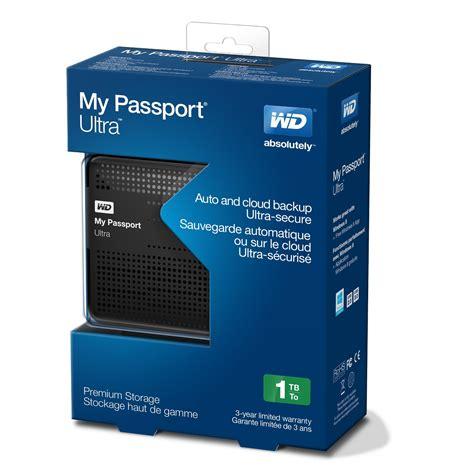 Wd My Passport 1tb 1tb western digital my passport ultra black