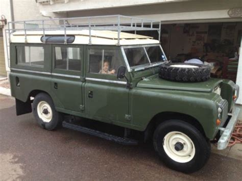 land rover safari vehicles for sale sell used land rover series iii lwb 109 assault