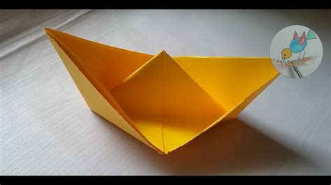 how to make paper boat origami paper boat duck in the