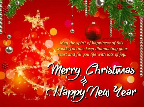 short merry christmas  happy  year  messages wishes text