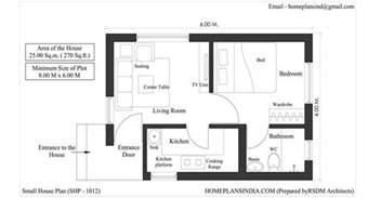 Floor Plans For Small Houses Home Plans In India 4 Free House Floor Plans For