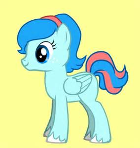 Did you make your own character my little pony friendship is magic