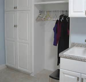 Laundry Room White Cabinets Mantels Custom Built Ins Rochester Mn