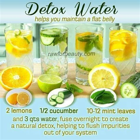 Detox To Clean System by Flat Belly Water Health And Fitness Flat