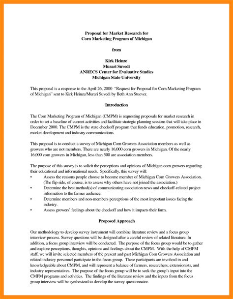 Resume For A Cleaning Job by 4 Research Project Proposal Example Model Resumed