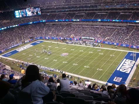 metlife stadium section 149 giants jets metlife stadium section 309 rateyourseats com